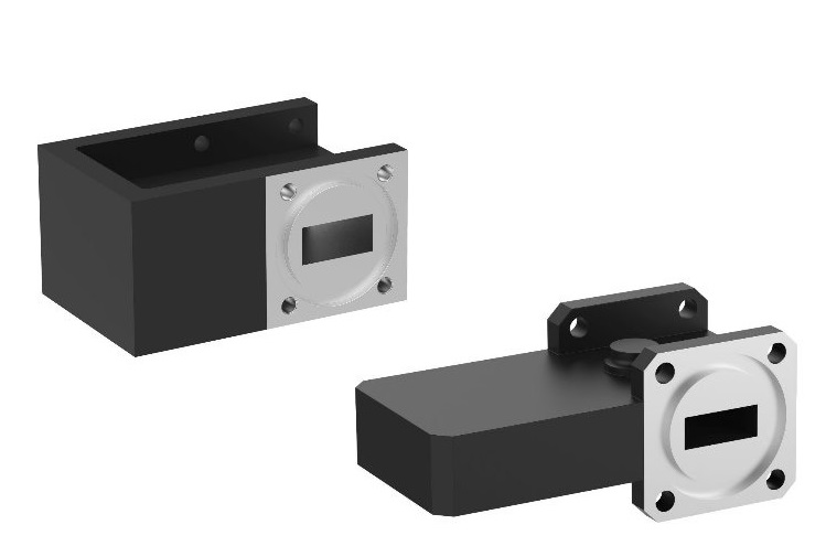 Waveguide isolators Low Loss Ku- and Ka- band